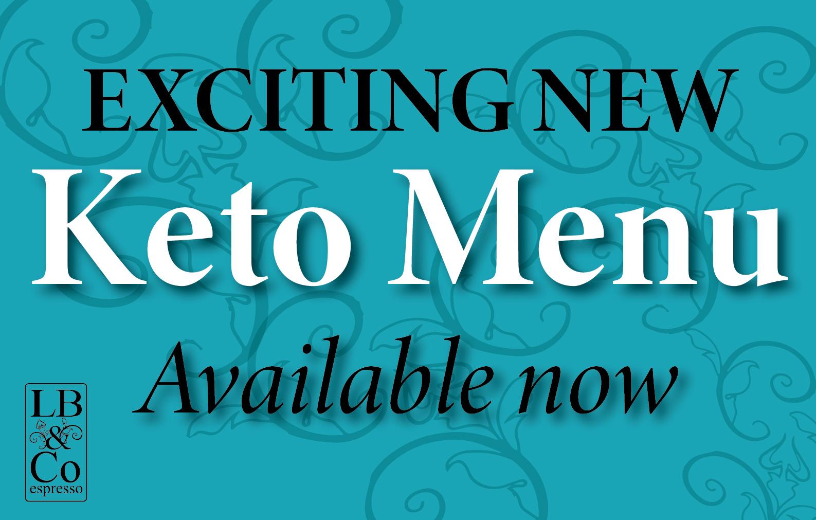 Keto Menu advert for LB & Co